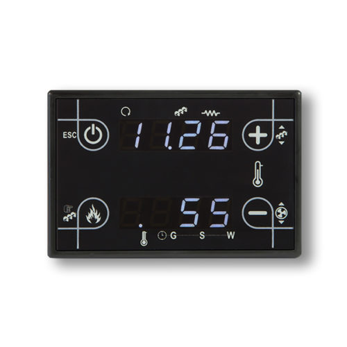 panel de control CP110 barato y compacto, negro touch screen