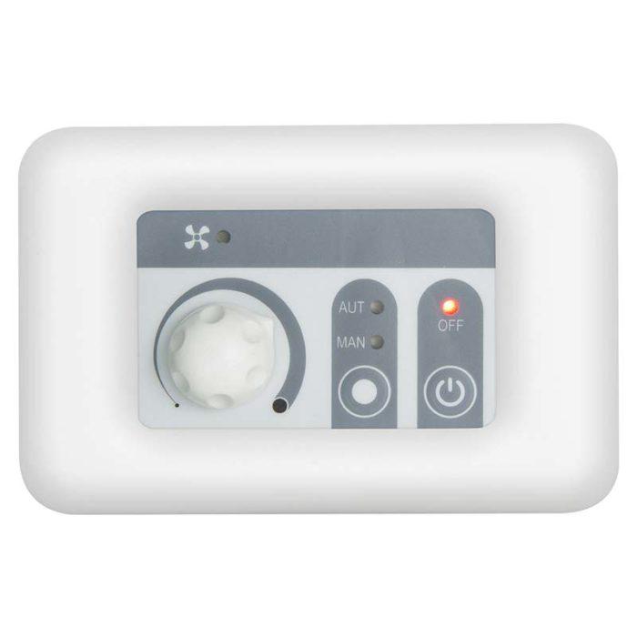 Termoregolatore digitale FC330 con placca bianca