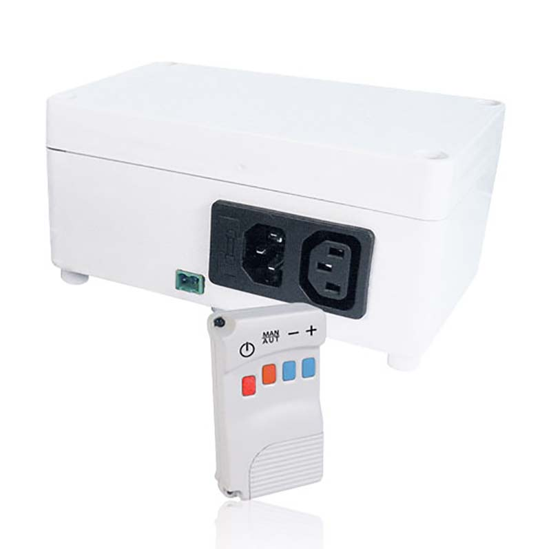 White remote radio temperature controller FC715