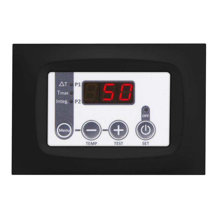 TSOL02 black thermoregulator for the management of solar panels