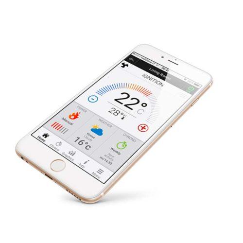 wi-fi app control 4heat parar iOS e smartphones Android