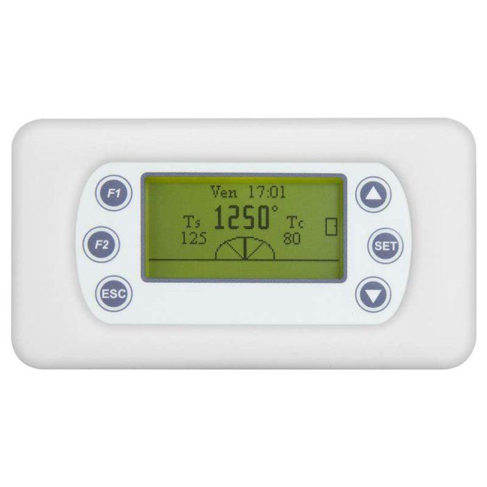 Kit termoregolazione per stufe ad accumulo KEY FIRE con display digitale