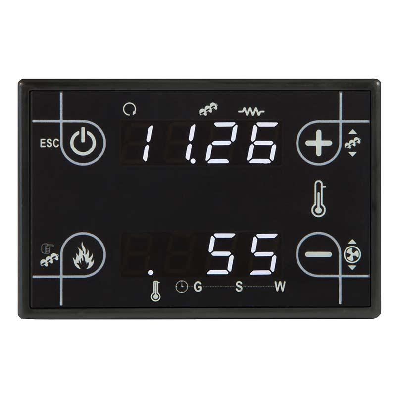 Tastiera termoregolatore CP110 nero soft touch