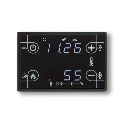 panel de control CP110 barato y compacto, negro touch screen