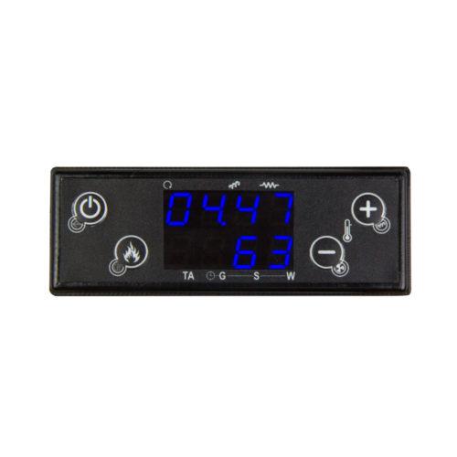 Panel de control CP115 con diseño compacto para estufas pequeñas