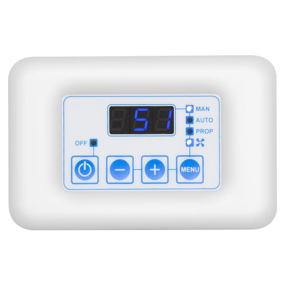 termoregolatore FC810 bianco stondato