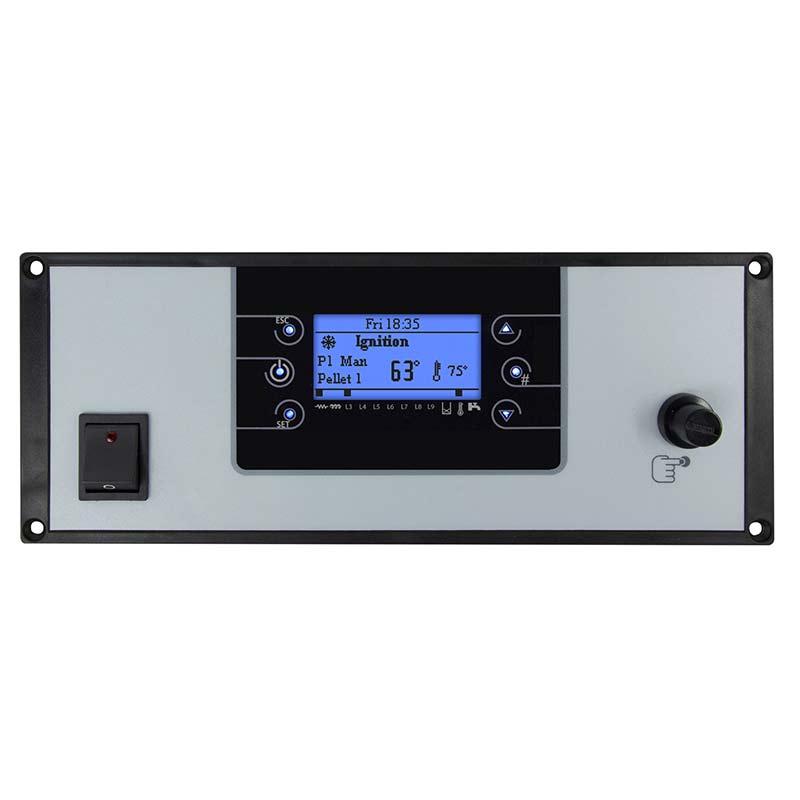 termoregolatore LCF200 con tasti a sfioro