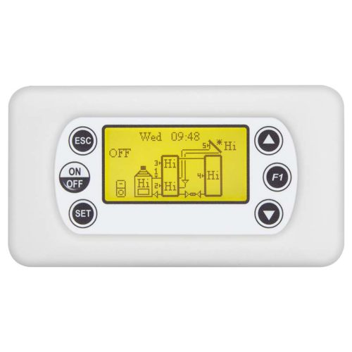 MBT500 Boiler Multi Tank control system with LCD display