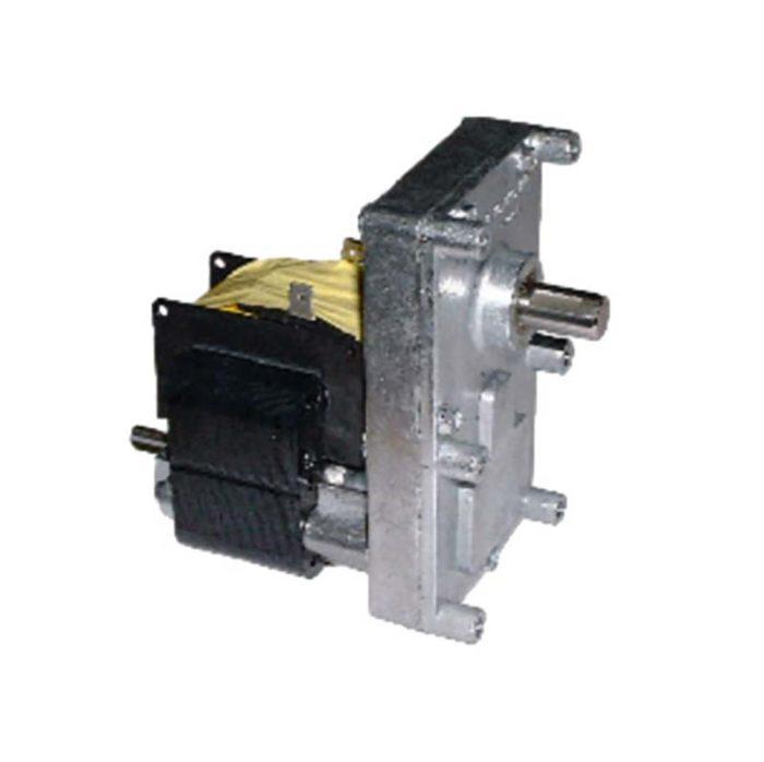 motoriduttori e encoder che regolano e dosano combustibile per stufe e caldaie
