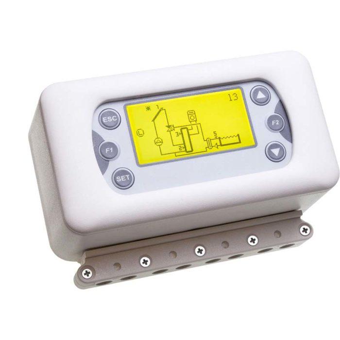 Termoregolatore per pannelli solari TSOL500