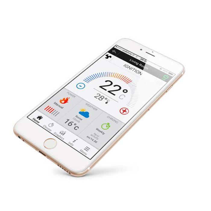wi-fi app control 4heat disponibile per iOS e Android