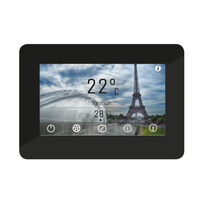 pannello di controllo k400 con touch screen a colori e grafica intuitiva