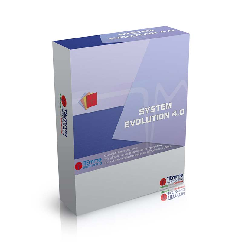 system evolution 4.0 software by tiemme elettronica